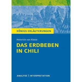 Das Erdbeben In Chili Heinrich Von Kleist Inhaltsangabe