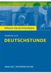 Königs Erläuterungen zu »Deutschstunde«