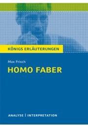 Homo faber zusammenfassung knigs erluterungen zu homo faber malvernweather Images